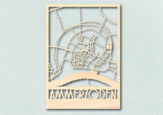 Landkaart hout Amerzoden