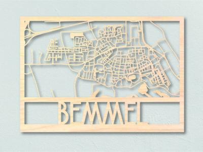 Landkaart Hout Bemmel