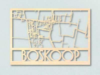 Landkaart hout Boskoop