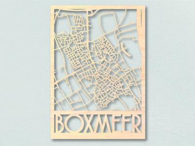 Landkaart hout Boxmeer