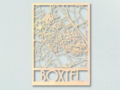 Landkaart hout Boxtel