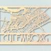 Culemborg Landkaart hout
