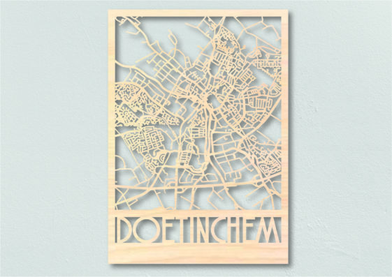 Landkaart hout Doetinchem