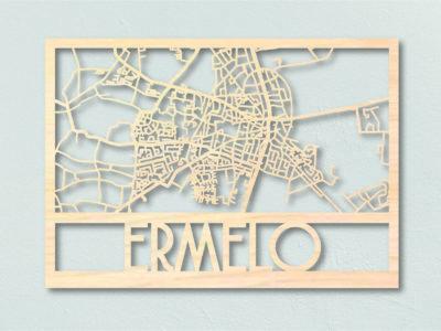 Landkaart hout Ermelo