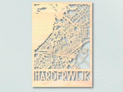 Landkaart hout Harderwijk