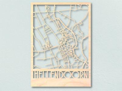 Landkaart hout Hellendoorn