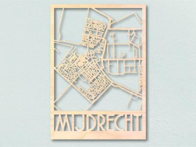 landkaart hout MIjndrecht