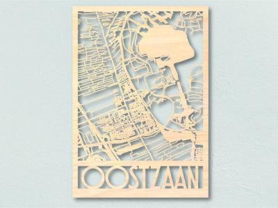 Landkaart hout Oostzaan