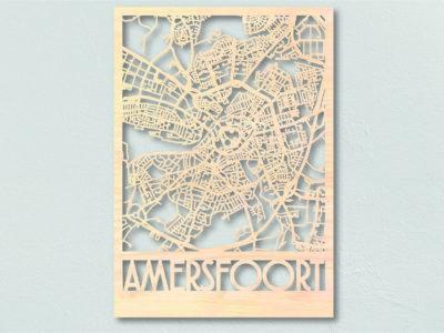 Landkaart hout Amersfoort