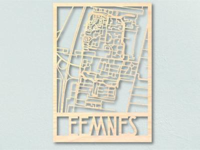 Landkaart hout Eemnes