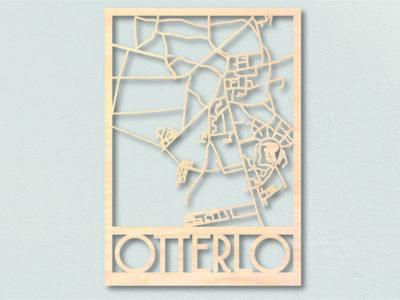 Landkaart hout Otterlo