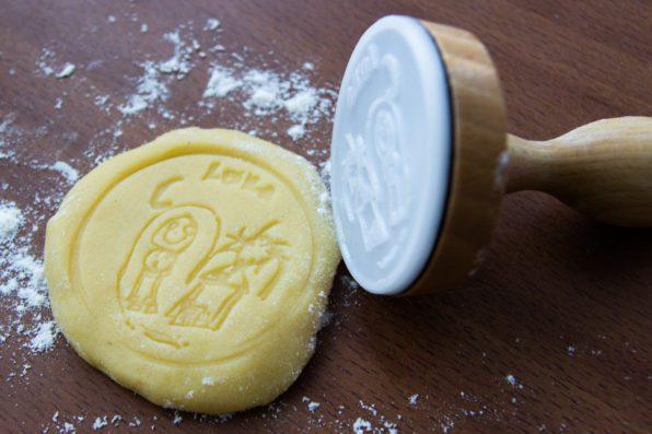 Van een tekening een stempel voor koekjes laten maken