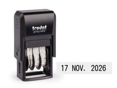 Cijferbandstempel datums bestellen