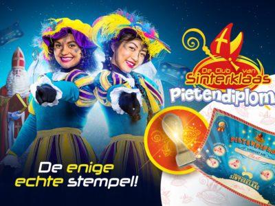 Stempel Sinterklaas Club Van